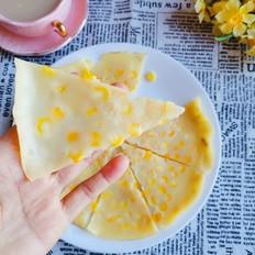 玉米牛奶鸡蛋饼
