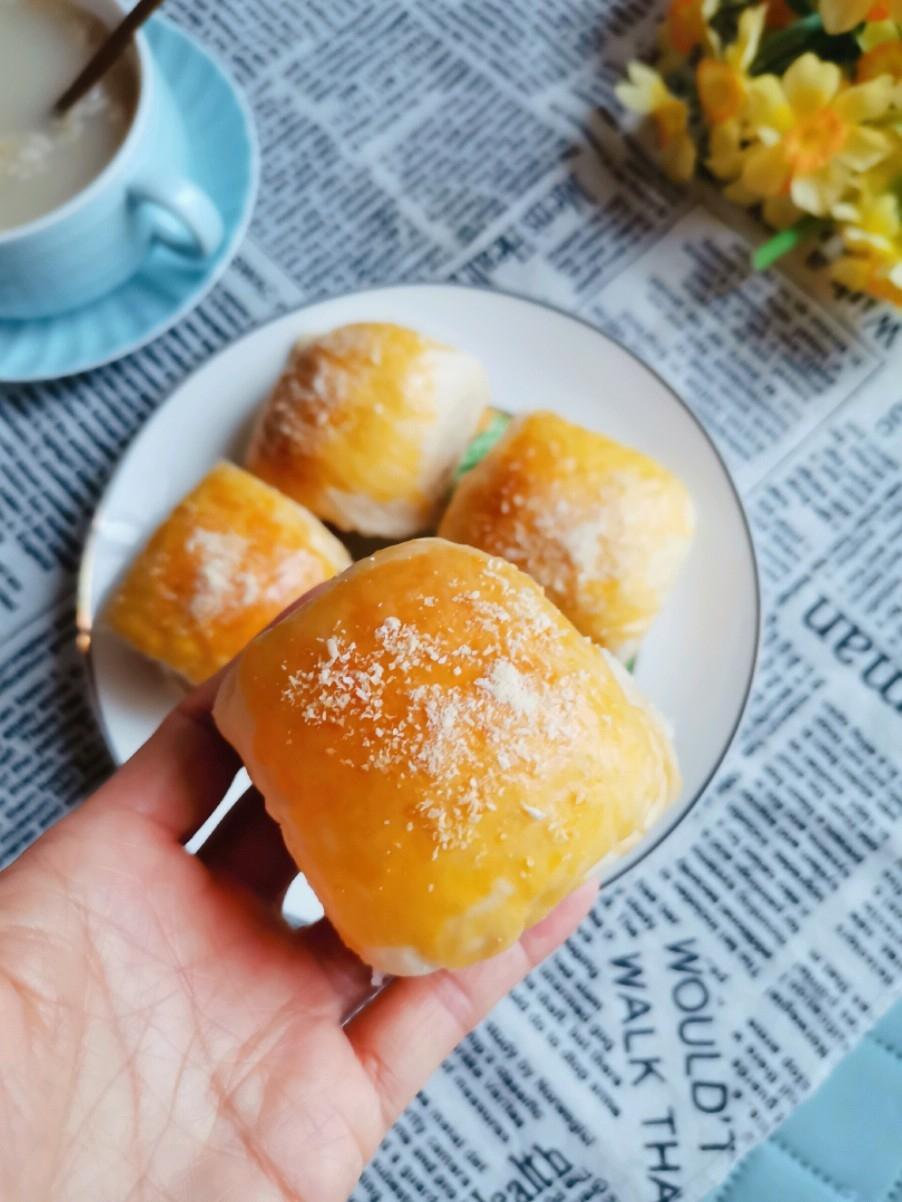 奶黄馅小面包