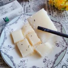 大米牛奶蒸糕