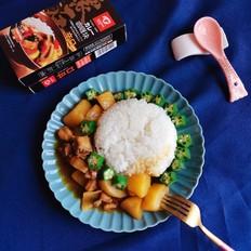 咖喱土豆燜雞