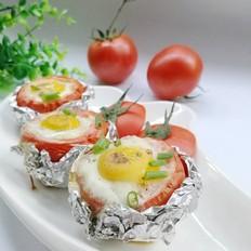 西红柿鸡蛋杯
