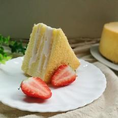 8寸戚风蛋糕(后蛋法)