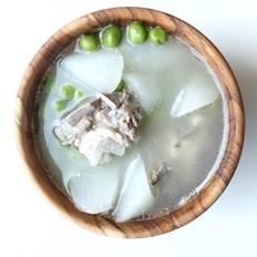 豌豆山药排骨汤