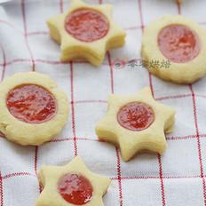 草莓果酱饼干