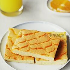 千叶纹烫面黄金蛋糕