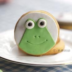 小青蛙翻糖饼干