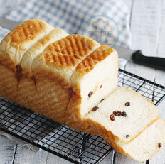 葡萄干吐司面包的做法