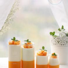 芒果椰子奶冻