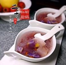 紫薯银耳羹