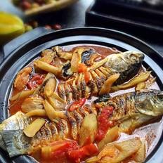 芋蒙紫苏草鱼煲