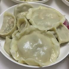 香葶虾仁馅饺子