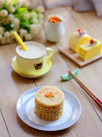 葱香豆浆饼的做法