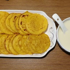懒人餐-奶香玉米饼