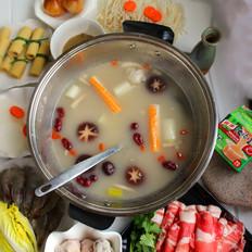猪骨菌汤锅