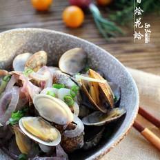 酒香烩花蛤