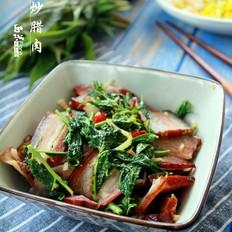 香椿炒腊肉