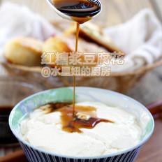 红糖浆豆腐花