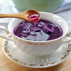 快手紫薯银耳羹