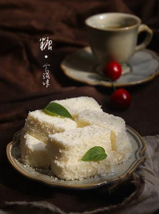 椰奶冻糕的做法