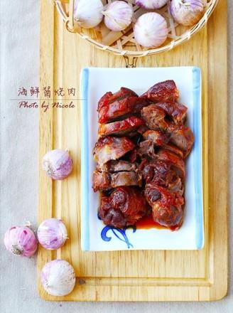 海鲜酱烧肉的做法