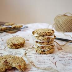 无油低脂燕麦饼干
