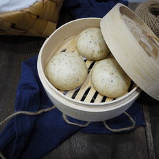 燕麦红豆包子