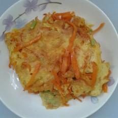 胡萝卜芹菜煎蛋