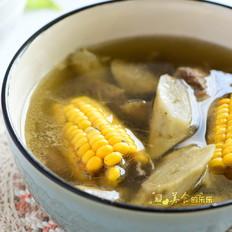 牛蒡玉米猪骨汤