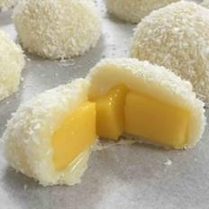 香甜软糯的芒果糯米糍
