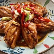 香辣酱汁鸡翅