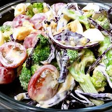 健康美味蔬菜沙拉