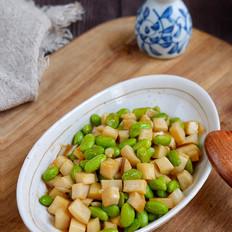 蚝油毛豆杏鲍菇