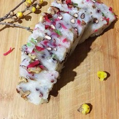 过年必不可少的传统美味-红豆葡萄干红枣松糕