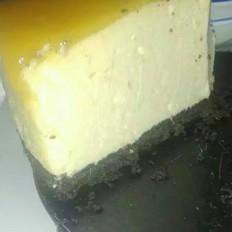 芒果慕斯cake