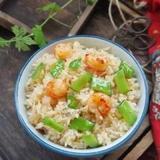 小龙虾芥末沙拉酱炒饭