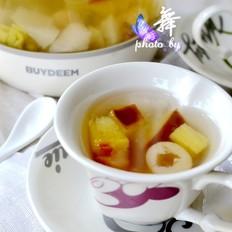 菠萝瓜果茶