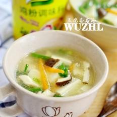 豆腐香菇汤