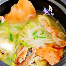 螃蟹萝卜煲