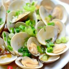 蔥油蛤蜊的做法大全
