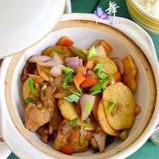 少油干锅土豆