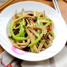 清炒茶树菇的做法大全