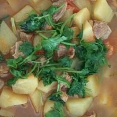 牛肉土豆西红柿