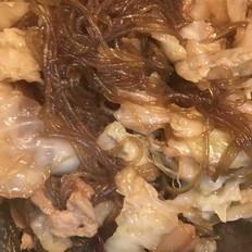 猪肉包菜炖粉条