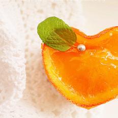 糖渍柳橙奶油芝士蛋糕