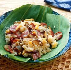 腊肠糯米饭