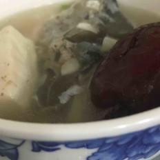 红枣鱼头汤