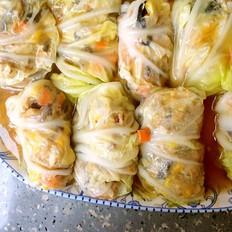 鲜包白菜卷