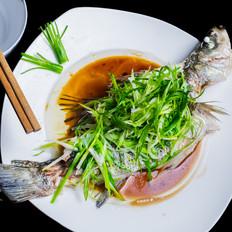 清蒸鲜鱼,完美教程