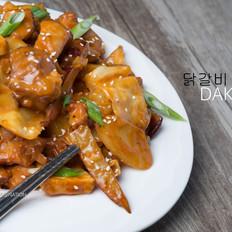 炒鸡好吃的韩式炒鸡