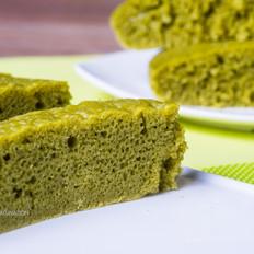 抹茶白糖糕 - 绿茶伦教糕